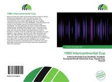 Обложка 1985 Intercontinental Cup