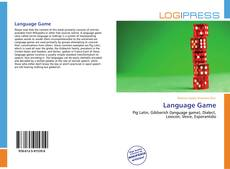 Bookcover of Language Game