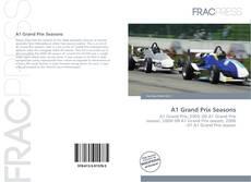 Bookcover of A1 Grand Prix Seasons