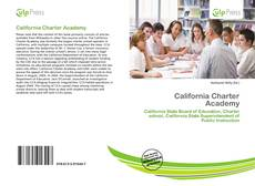 Bookcover of California Charter Academy