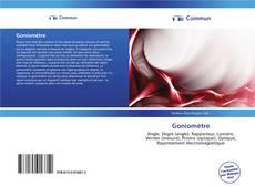 Couverture de Goniomètre
