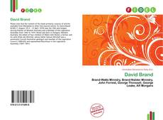 Bookcover of David Brand