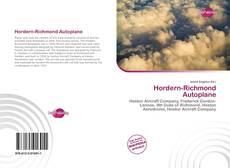 Borítókép a  Hordern-Richmond Autoplane - hoz