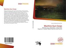 Bookcover of Machine Gun Corps