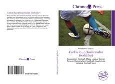Capa do livro de Carlos Ruiz (Guatemalan footballer)