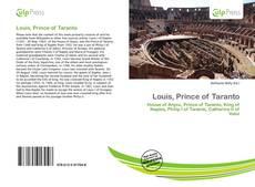 Couverture de Louis, Prince of Taranto