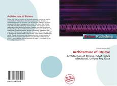 Bookcover of Architecture of Btrieve