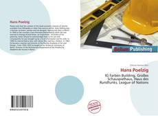 Buchcover von Hans Poelzig