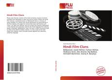 Bookcover of Hindi Film Clans