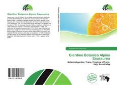 Copertina di Giardino Botanico Alpino Saussurea