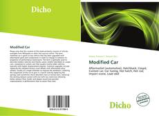 Couverture de Modified Car