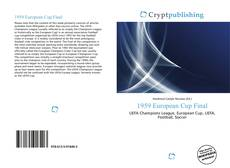 Bookcover of 1959 European Cup Final
