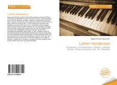 Bookcover of Luther Henderson
