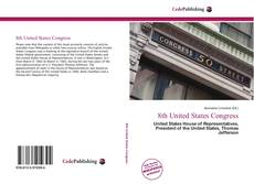 Capa do livro de 8th United States Congress