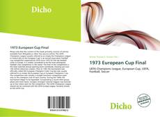 Bookcover of 1973 European Cup Final