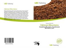 Călimani Mountains kitap kapağı