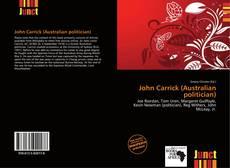 Обложка John Carrick (Australian politician)