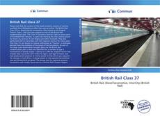 Capa do livro de British Rail Class 37