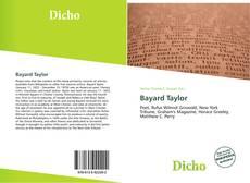 Buchcover von Bayard Taylor