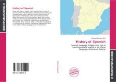 Borítókép a  History of Spanish - hoz