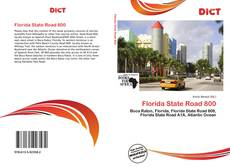Обложка Florida State Road 800