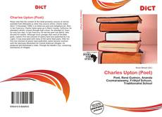 Charles Upton (Poet)的封面