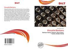 Buchcover von Giosafat Barbaro