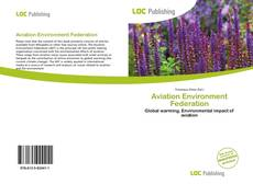 Portada del libro de Aviation Environment Federation