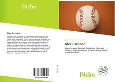 Capa do livro de Alex Escobar
