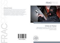 Bookcover of Crime en France