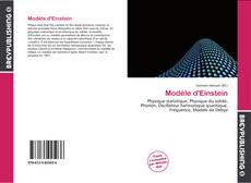 Bookcover of Modèle d'Einstein
