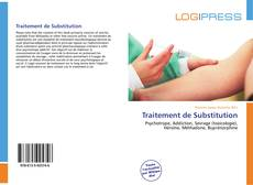 Buchcover von Traitement de Substitution