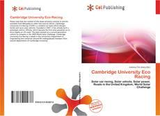 Cambridge University Eco Racing的封面