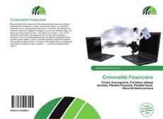 Criminalité Financière kitap kapağı