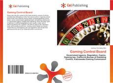Couverture de Gaming Control Board