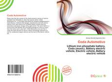 Bookcover of Coda Automotive