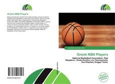 Capa do livro de Greek NBA Players