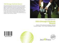 Portada del libro de 1923 Chicago Cardinals Season