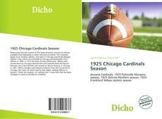 Capa do livro de 1925 Chicago Cardinals Season