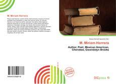 M. Miriam Herrera kitap kapağı