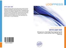 Bookcover of 2010 L&H 500