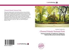 Bookcover of Channel Islands National Park