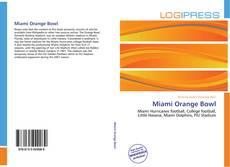 Couverture de Miami Orange Bowl
