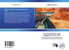 Portada del libro de Civil Jurisdiction and Judgments Act 1991