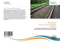 Bookcover of Lower Silesian-Mark Railway