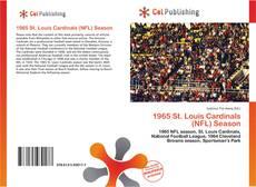 Bookcover of 1965 St. Louis Cardinals (NFL) Season