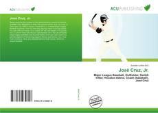 José Cruz, Jr.的封面