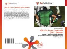 Capa do livro de 1983 St. Louis Cardinals (NFL) Season