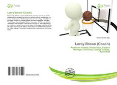 Bookcover of Leroy Brown (Coach)