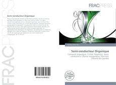 Capa do livro de Semi-conducteur Organique